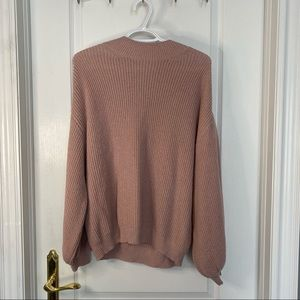 Leith pink sweater size M